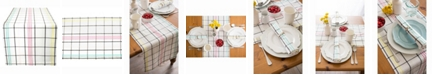 """Design Imports Color Pop Plaid Table Runner 14"""" X 108"""""""