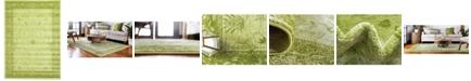 Bridgeport Home Aldrose Ald4 Light Green 7' x 10' Area Rug