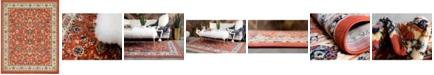 Bridgeport Home Arnav Arn1 Terracotta 8' x 10' Area Rug
