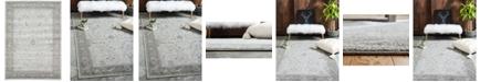 Bridgeport Home Aldrose Ald4 Light Gray 7' x 10' Area Rug