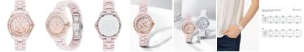 COACH LIMITED EDITION Preston Blush Ceramic Bracelet Watch 32mm, Created for Macy's
