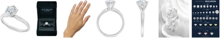 Macy's Diamond Solitaire Engagement Ring (2 ct. t.w.) in 14k White or Yellow Gold