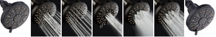 Aquadance High-Pressure Luxury 6-setting Slim line Shower Head with Pause Mode