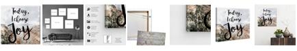 "Oliver Gal I Chose Joy Desert Canvas Art, 16"" x 16"""