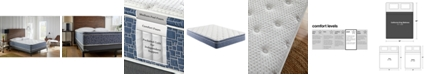 "Corsicana American Bedding 10"" Pillow Top Support Foam and Spring Plush Mattress- California King"
