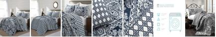 Lush Decor Aubree 3-Piece Reversible Full/Queen Quilt Set
