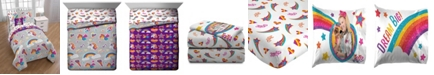Jojo Siwa JoJo Rainbow Sparkle 6-Pc. Twin Comforter Set