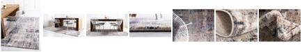 Jill Zarin Gramercy Downtown Jzd001 Multi 4' x 6' Area Rug