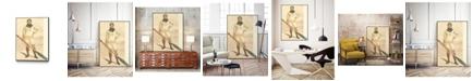 "Giant Art 36"" x 24"" Vanity Fair Rowing Art Block Framed Canvas"