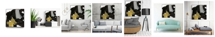 "Giant Art 30"" x 30"" Chromatic Impulse IX Art Block Framed Canvas"