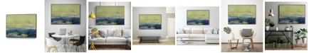 """Giant Art 28"""" x 22"""" Vintage Like Landscape I Art Block Framed Canvas"""