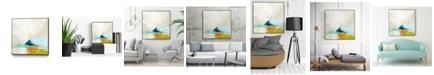 "Giant Art 30"" x 30"" Atmospheric III Art Block Framed Canvas"