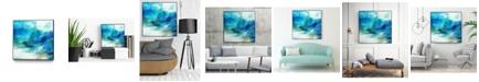 "Giant Art 30"" x 30"" Ephemeral I Art Block Framed Canvas"