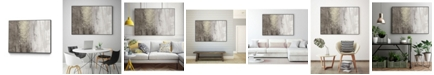"Giant Art 20"" x 16"" Glitter Rain II Art Block Framed Canvas"