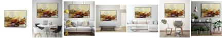 """Giant Art 40"""" x 30"""" Feteen II Art Block Framed Canvas"""