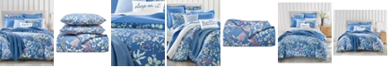Charter Club Meadow Cotton 300-Thread Count 3-Pc. Full/Queen Duvet Cover Set, Created for Macy's