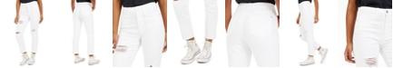 Tinseltown Juniors' Ripped Ankle Slim-Leg Jeans
