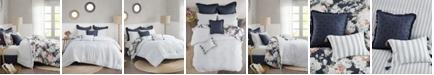 Madison Park Mavis 8 Piece California King Cotton Printed Reversible Comforter Set