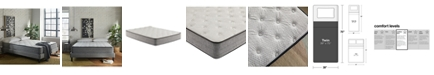 "Corsicana SleepInc 10"" Cushion Firm Hybrid Mattress- Twin"