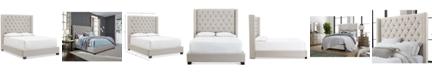 Furniture Monroe II  Upholstered Full Bed, Created for Macy's
