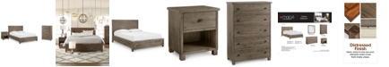 Furniture Canyon Platform Bedroom Furniture, 3 Piece Bedroom Set, Created for Macy's,  (Full Bed, Chest and Nightstand)
