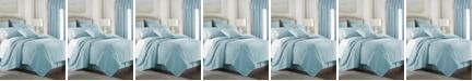 Colcha Linens Cambric Aqua Duvet Cover-King/California King
