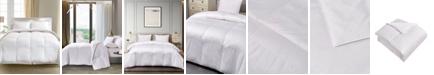 Blue Ridge 1000 Thread Count Pima Cotton European White Goose Down Twin Comforter
