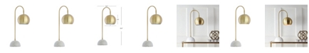 JONATHAN Y Stephen Metal or Marble Led Table Lamp