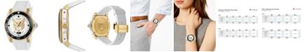 Gucci Unisex Swiss Diver White Rubber Strap Watch 40mm