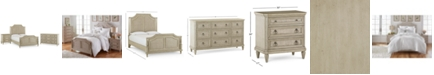 Furniture Chelsea Court Bedroom Furniture, 3-Pc. Set (California King Bed, Nightstand & Dresser), Created for Macy's