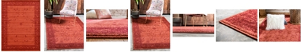 "Bridgeport Home Aldrose Ald4 Orange 12' 2"" x 16' Area Rug"