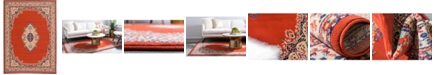 Bridgeport Home Birsu Bir1 Terracotta 7' x 10' Area Rug