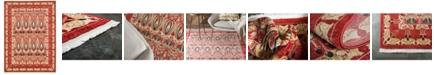 Bridgeport Home Orwyn Orw3 Red/Beige 8' x 11' Area Rug