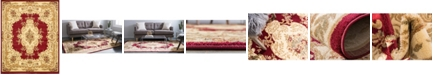 Bridgeport Home Belvoir Blv5 Red 8' x 10' Area Rug