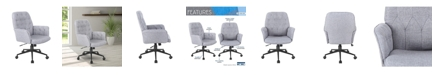 RTA Products Techni Mobili Tufted Office Chair