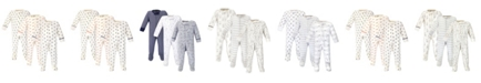 Touched by Nature Baby Boy Organic Sleep and Play 3 Pack