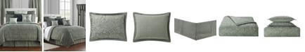 Waterford Garner Reversible King 4 Piece Comforter Set