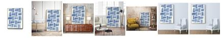 "Giant Art 32"" x 24"" Macrame VI Art Block Framed Canvas"