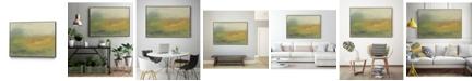 """Giant Art 40"""" x 30"""" Hillside I Art Block Framed Canvas"""