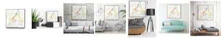 "Giant Art 20"" x 20"" Quarter Note II Art Block Framed Canvas"