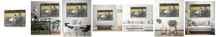 """Giant Art 40"""" x 30"""" Prologue Art Block Framed Canvas"""