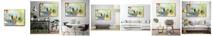 "Giant Art 28"" x 22"" Deviation II Art Block Framed Canvas"