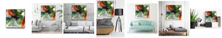 "Giant Art 20"" x 20"" Vibrant Terrain II Art Block Framed Canvas"