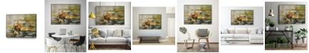 "Giant Art 14"" x 11"" Composition II Art Block Framed Canvas"