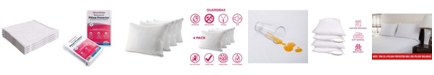 Guardmax Pillow Protector, King - 4 piece