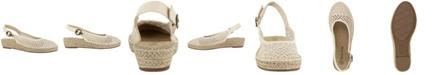 Bella Vita Olive II Women's Espadrille Wedge Sandals
