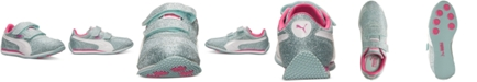 Puma Little Girls' Steeple Glitz AOG V Casual Sneakers  from Finish Line