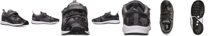 Puma Toddler Boys' Carson Runner AC Camo Casual Sneakers from Finish Line