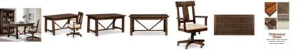 Furniture Ember Home Office Furniture, 2-Pc. Set (Desk & Desk Chair)