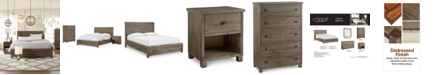 Furniture Canyon Platform Bedroom Furniture, 3 Piece Bedroom Set, Created for Macy's,  (Queen Bed, Chest and Nightstand)